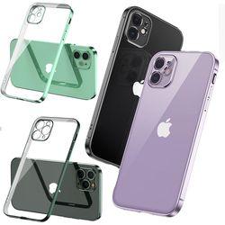 아이폰 13 pro max 미니 슬림 투명 젤리 클리어케이스