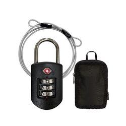 팩세이프 TSA 콤비 와이어 자물쇠