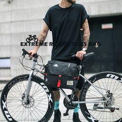 익스트림 라이더 자전거 프레임 가방 여행 수납 핸들 안장 로드