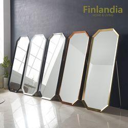 핀란디아 페일리 루아 와이드 스탠드 팔각 전신거울