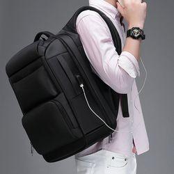 캐럿 비즈니스 노트북 백팩 17인치 정장 남자 가방