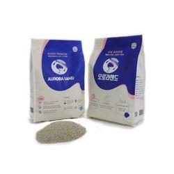 오로라샌드 오리지널 고양이 벤토나이트 모래 6kgX3팩