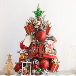 LED 스노우산타전구트리화분 60cmP 크리스마스 TRHMES