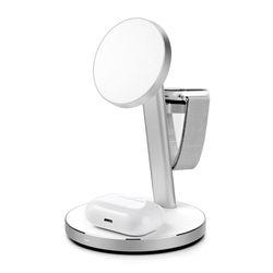 만렙 3in1 애플워치 아이폰 에어팟 맥세이프 핸드폰 무선 충전기