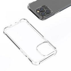 만렙 아이폰 12 프로맥스 슬림 투명 젤리 풀커버 범퍼 케이스