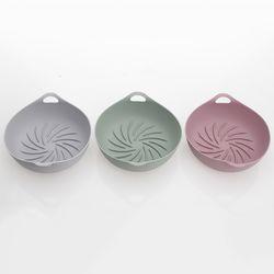 국내산 파스텔 실리콘 에어프라이어 용기-3color