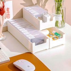 전선정리 소품 수납 깔끄미 스틱케이스 (투명케이스+견출지)