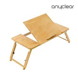 접이식좌식테이블 침대 원목좌탁 독서대 각도 높이조절 BLT17