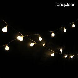 감성 조명 캠핑 LED 무드등 차박 크리스마스 벽트리 앵두전구 2M