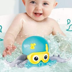 유아 목욕놀이 움직이는 옥토이