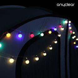 감성 조명 캠핑 LED 무드 차박 크리스마스 벽트리 왕앵두전구 5M