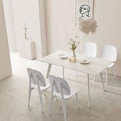 라르고 세라믹4인 식탁테이블세트(의자4개포함) LG13R
