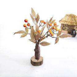 미니 감나무 모형 1P