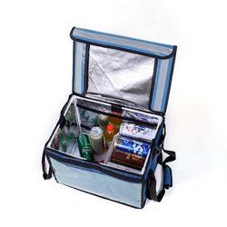 프레쉬 보온보냉 배달가방(48L) (블루)