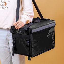 프레쉬 컵홀더 보온보냉 배달가방(32L) (블랙)