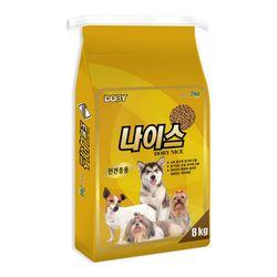 [룸펫]1살부터 먹이는 강아지사료 도비 나이스 8kg