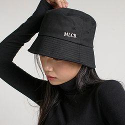 [MCA 2005] 오버사이즈 MLCR 코튼 버킷 햇 (블랙)(NEWUEROJLW)