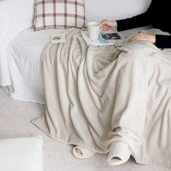 멜팅 크리미 극세사 두겹 담요 블랭킷 100x150cm (2color)