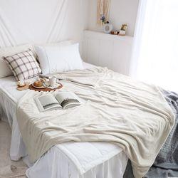 멜팅 크리미 극세사 두겹 담요 블랭킷 150x200cm (2color)