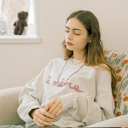 Ameme Logo Sweatshirt Grey