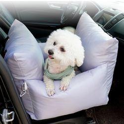 인뮤즈펫 강아지 반려견 개 시트 자동차 드라이빙킷