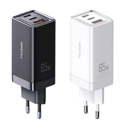 GaN PD3.0 65W 초고속 3포트 멀티충전기 white 맥도도