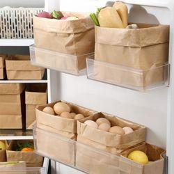 페이퍼 크라프트 종이 냉장고 정리함 봉투 12호