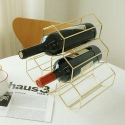골드 와인렉 와인랙 와인 진열 거치대 2color