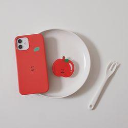 빨간 사과 과일 스마트톡 모양톡 에폭시톡 사과톡 과일톡