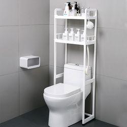 화장실 변기 욕실 장 세탁기 코너 수납장 선반 정리대