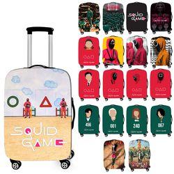 추억의게임 여행가방 캐리어 디자인 보호 커버 케이스