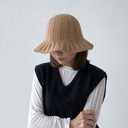 골지 니트 버킷햇 플로피햇 모자