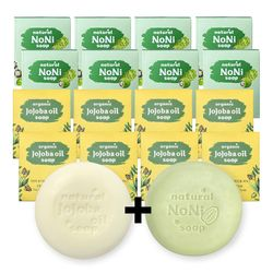 천연 발효노니 비누 + 유기농 호호바오일 비누 10+10개