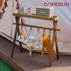 [캠든] 인디언행어 캠핑용품 접이식 우드 행거 티피