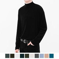 하프 폴라 니트 티셔츠 (9color)(ITEMVG40LCG)