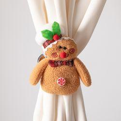 쿠키커튼집게 13cmP 크리스마스 커텐장식 소품 TROMCG