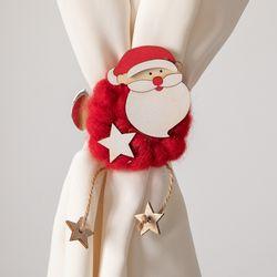 양모별커튼집게 7cmP 크리스마스 장식 소품 TROMCG