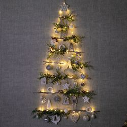 LED플라시보벽걸이우드트리 120cmP 크리스마스 TRHMES