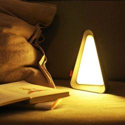 트라이앵글 LED 테이블 무드등 조명 아기 수유등 수면등