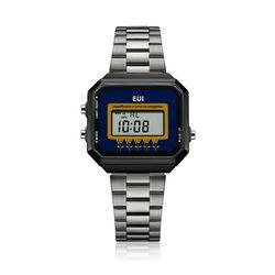 EUI 공용 메탈 전자시계 EUI6101M-GO