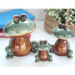 눈큰 개구리 3P 인테리어소품 장식품