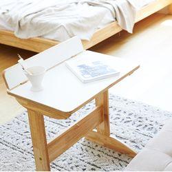 화이트 사이드테이블 협탁 1인 책상 독서 소파테이블