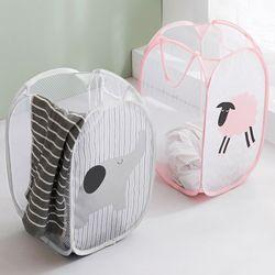 빨래바구니 장난감정리함 이동식 세탁 세탁물 빨래통