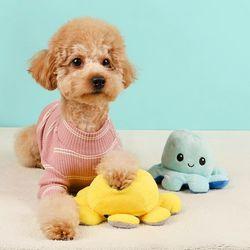 강아지 애견 장난감 펫홀릭 반전매력 문어 (2color)