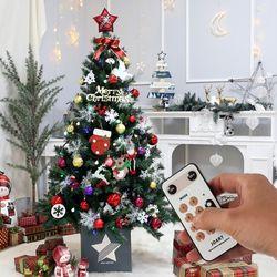 크리스마스트리 전구 장식 풀세트 모두의트리 1.6M