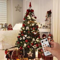 크리스마스트리 전구 장식 풀세트 라보떼레드 1.6M