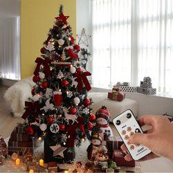 크리스마스트리 전구 장식 풀세트 어썸레드 1.6M