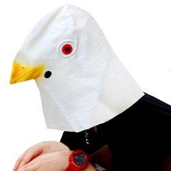평화의 비둘기 가면 (화이트)