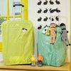 오그램 땡땡이커버 TYPE B 옐로우 20인치 여행가방