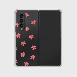 (슈퍼-Z폴드3) 보라꽃 패턴